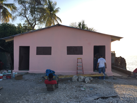 Finished home of Hope!
